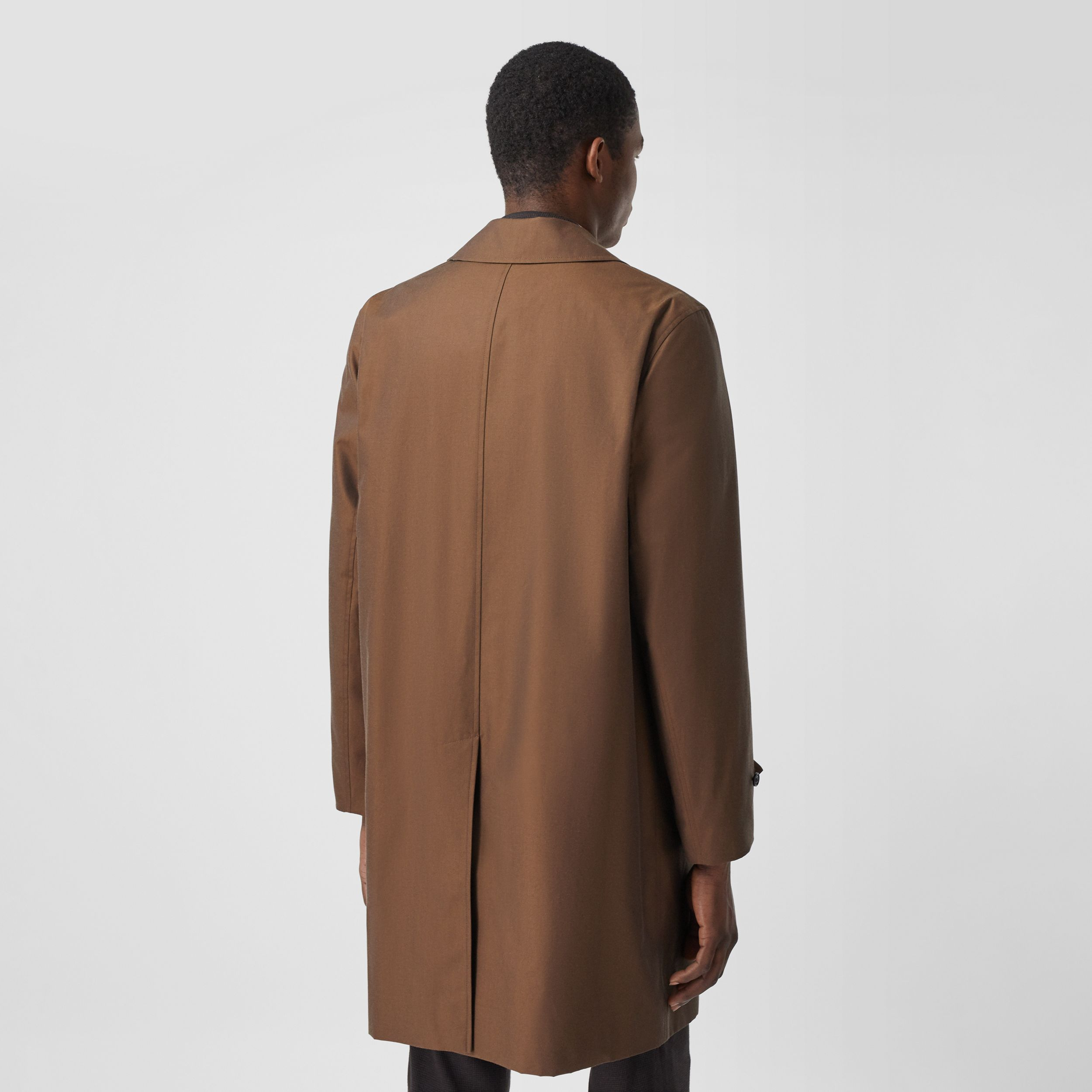 The Pimlico Heritage Car Coat in Amber Brown - Men | Burberry - 3