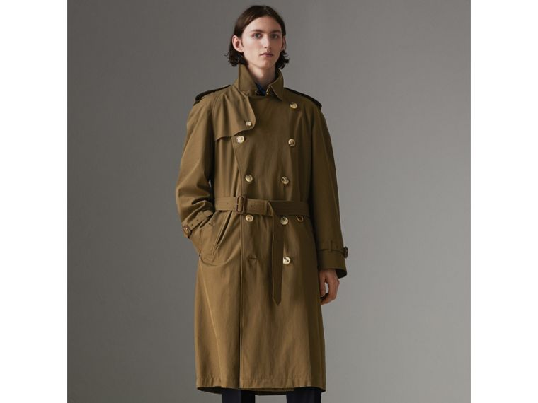 The Westminster Heritage Trench Coat in Dark Military Khaki - Men | Burberry - cell image 4