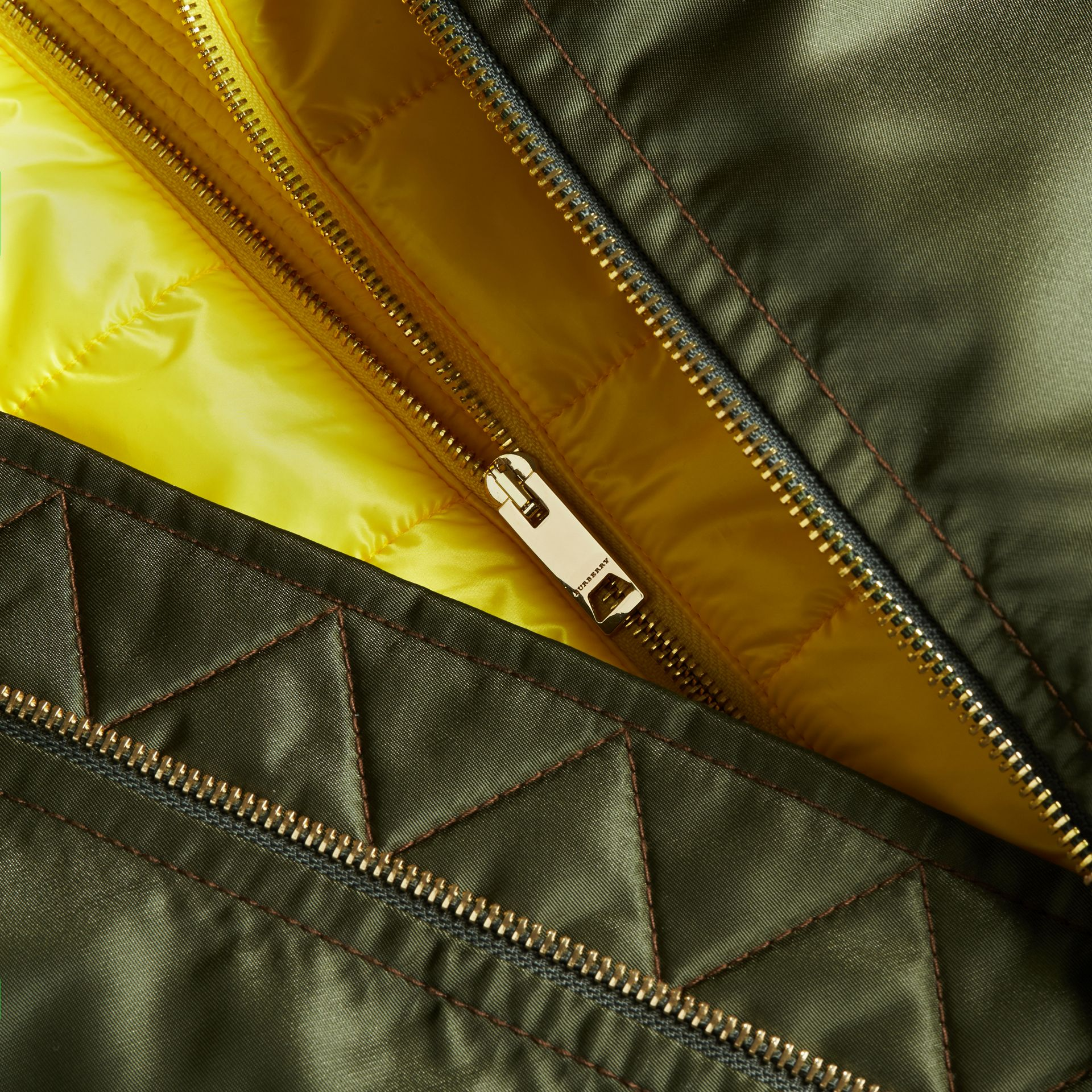 Technical Bomber Jacket with Detachable Warmer - gallery image 2