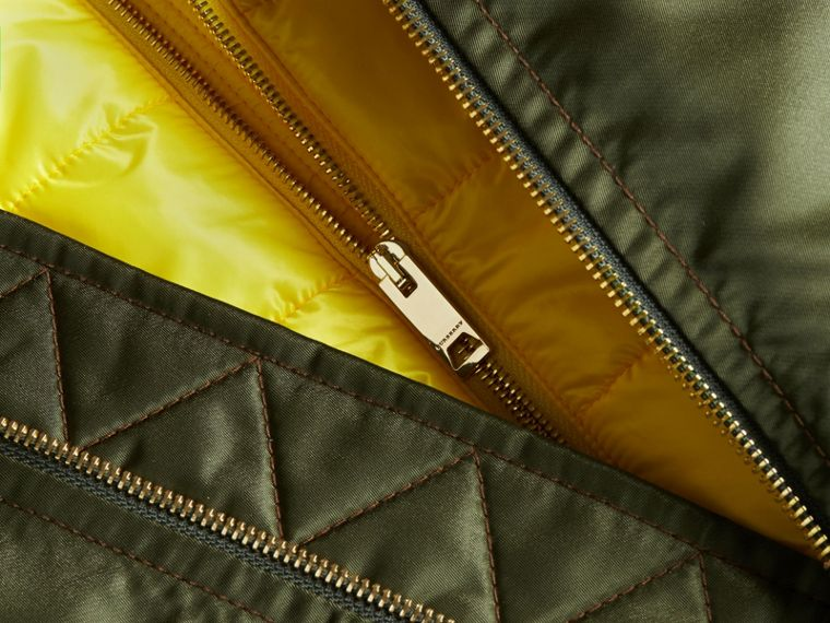 Technical Bomber Jacket with Detachable Warmer - cell image 1
