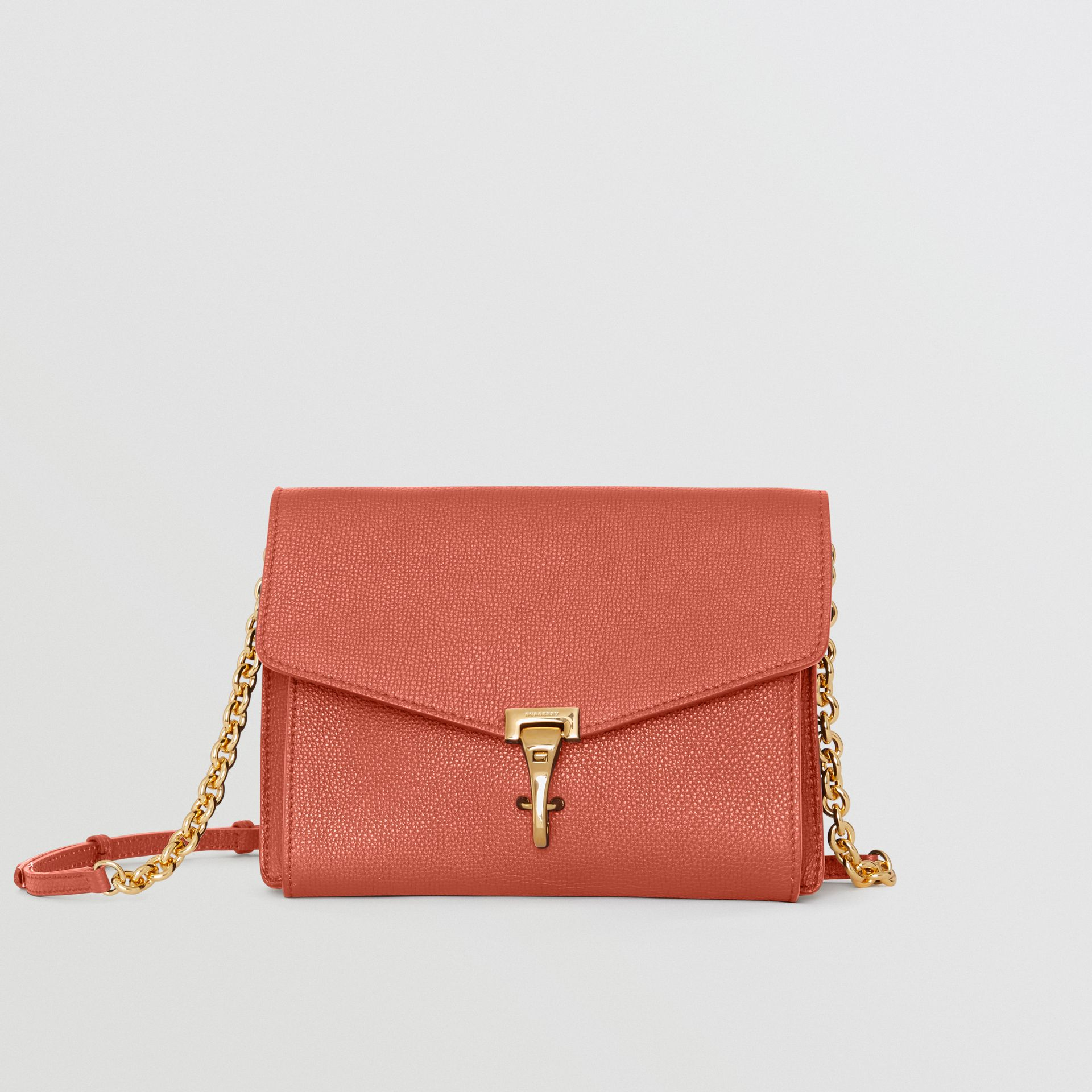 Small Leather Crossbody Bag in Cinnamon Red - Women | Burberry - gallery image 0