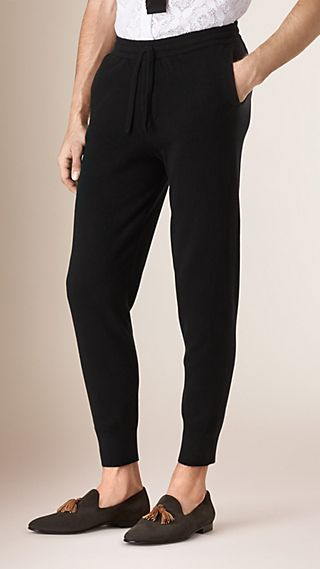 Tapered Cashmere Joggers