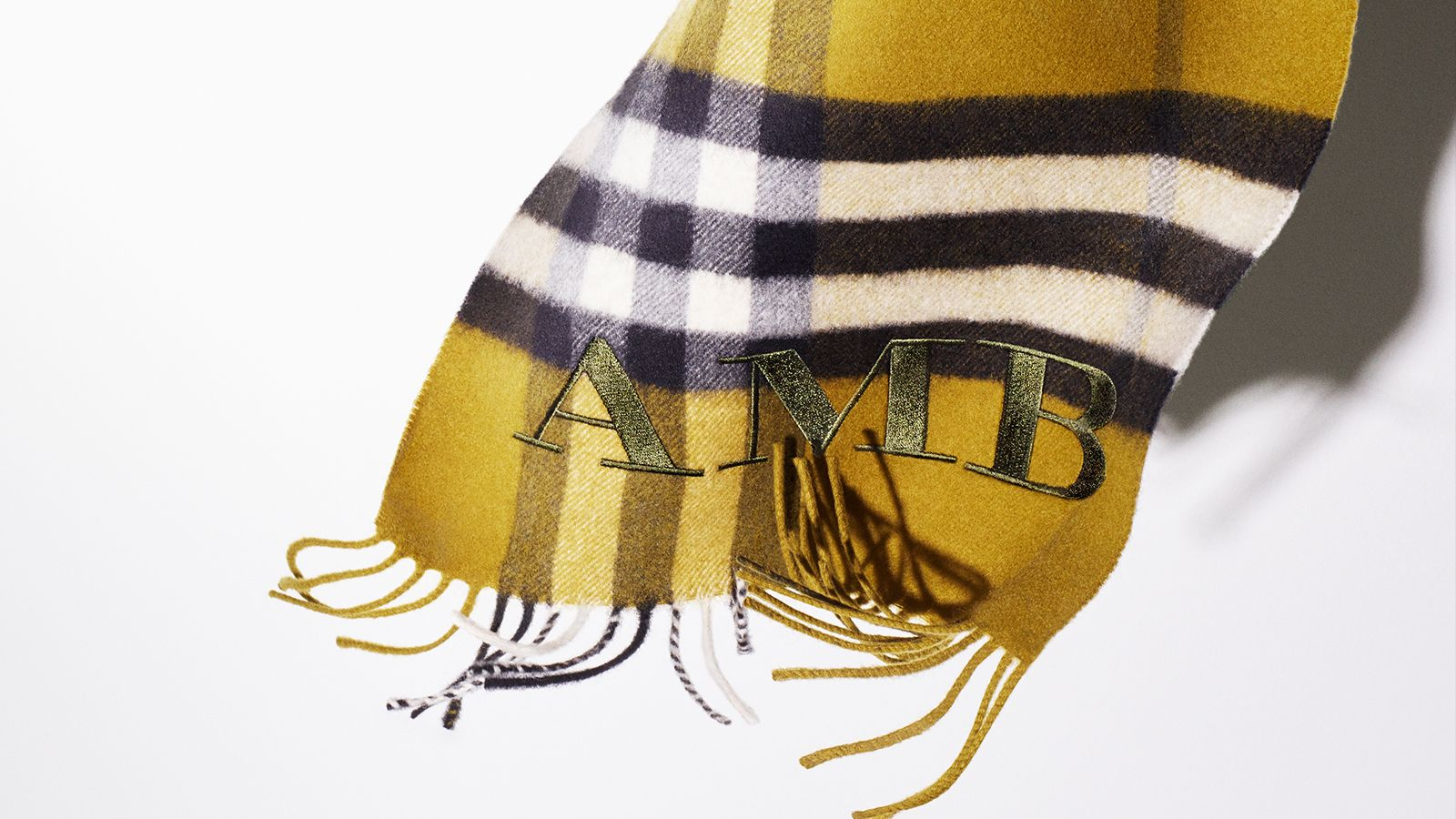 Monogram our scarves