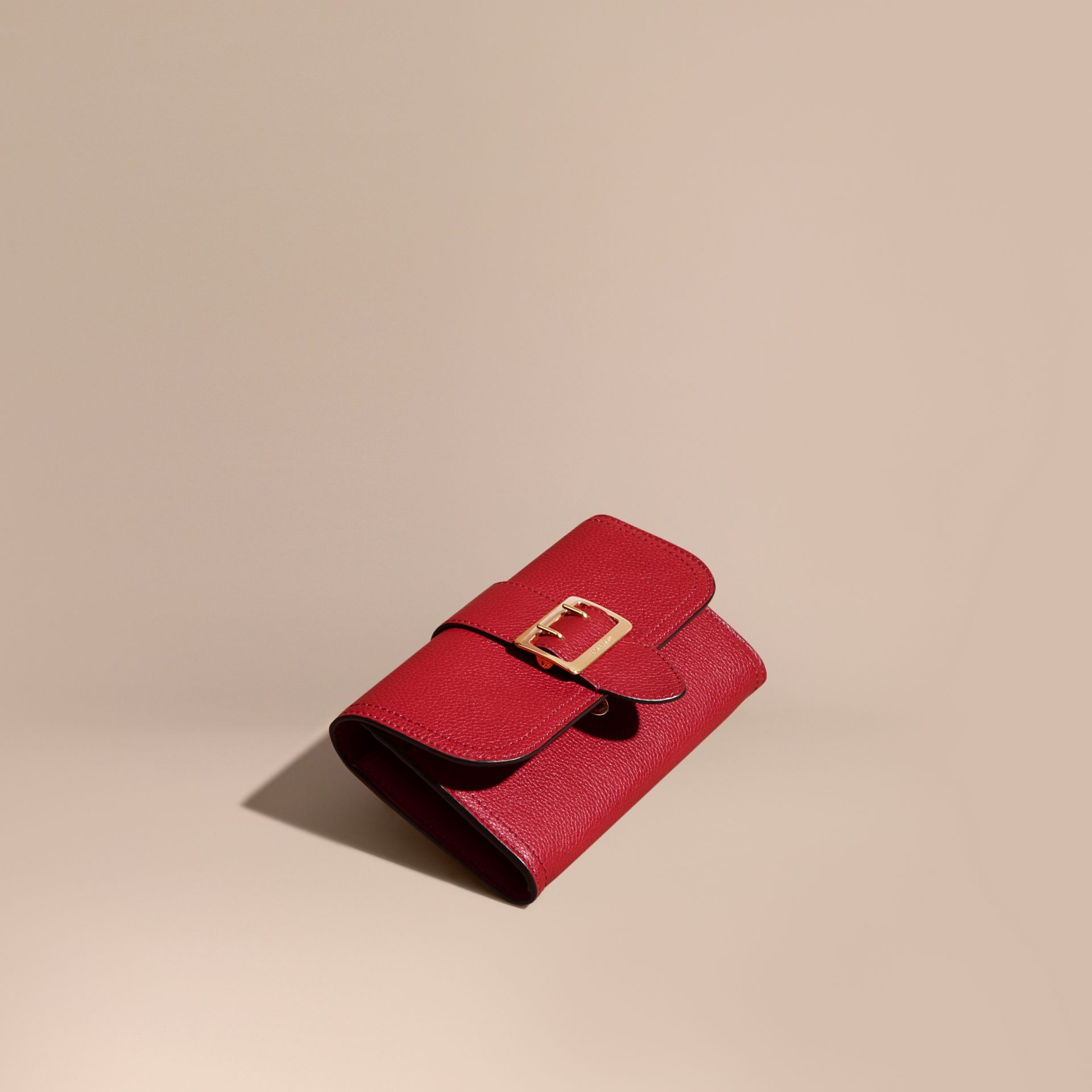 Textured Leather Continental Wallet Parade - gallery image 1