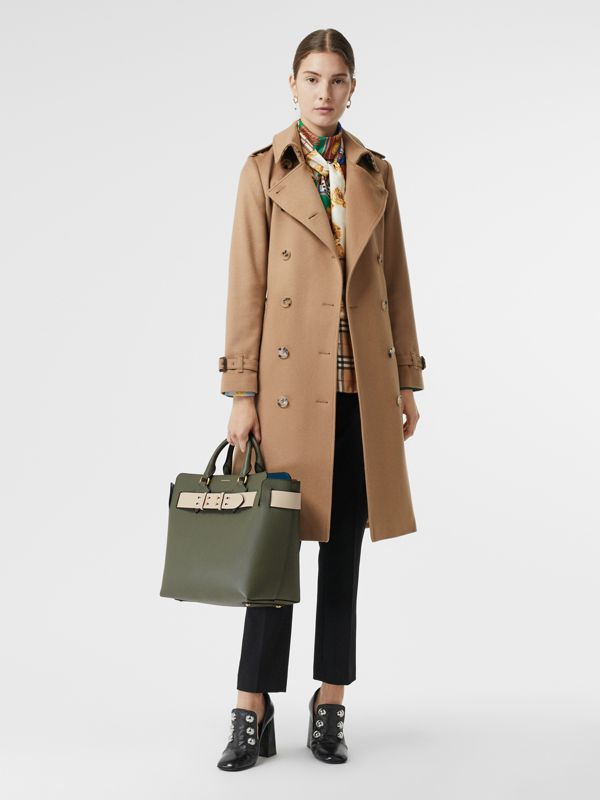 The Medium Leather Belt Bag in Sage Green - Women | Burberry - cell image 2