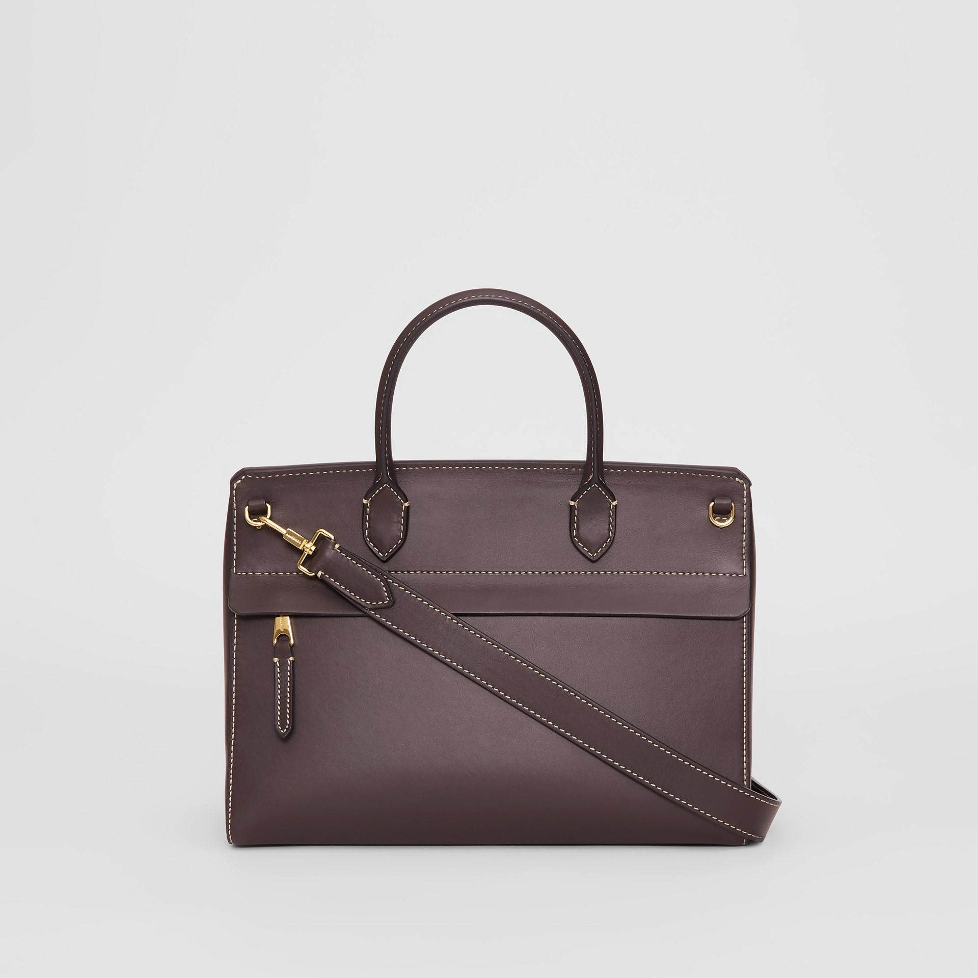Small Leather Elizabeth Bag in Coffee - Women | Burberry Australia - gallery image 5