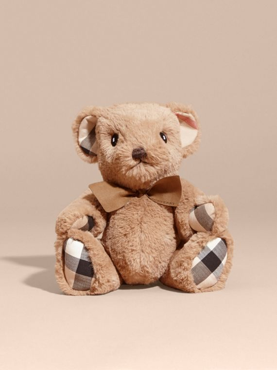 Thomas Baby Bear with Check Detail in Camel - Children | Burberry - cell image 3