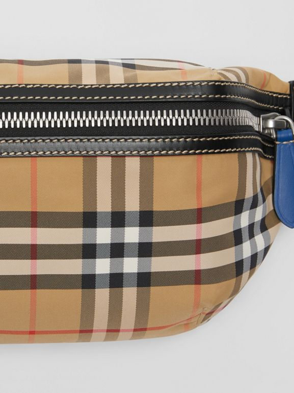 Medium Vintage Check Bum Bag in Antique Yellow | Burberry - cell image 1