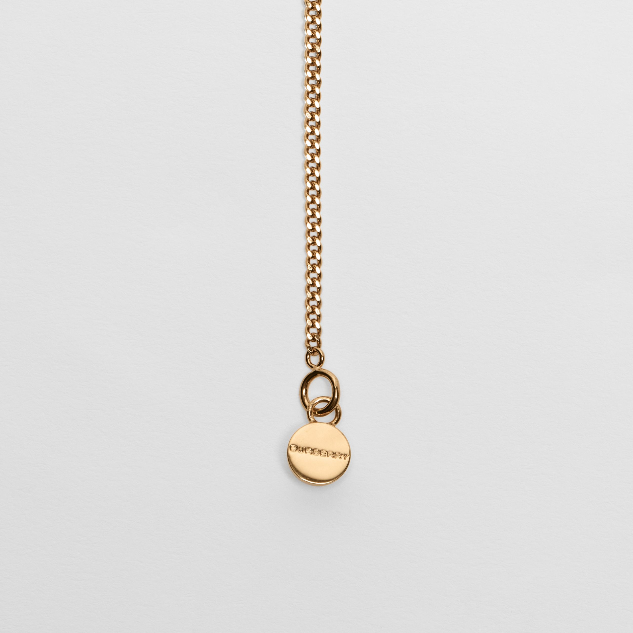 Gold-plated Chain Necklace in Light - Women | Burberry - 2