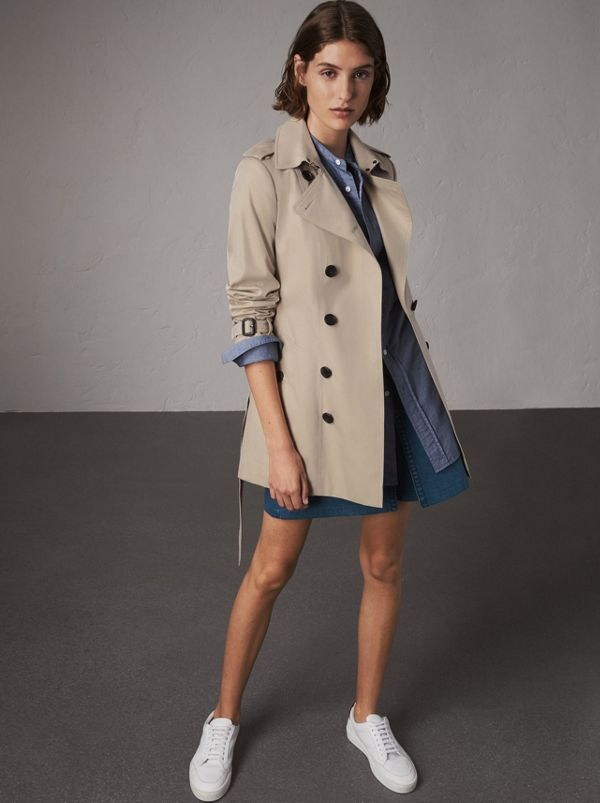The Sandringham – Short Heritage Trench Coat