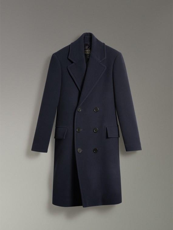羊毛喀什米爾大衣 (暗藍色) | Burberry - cell image 3