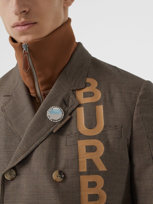 Palladium-plated Bottle Cap Brooch in Palladio | Burberry Australia - cell image 2