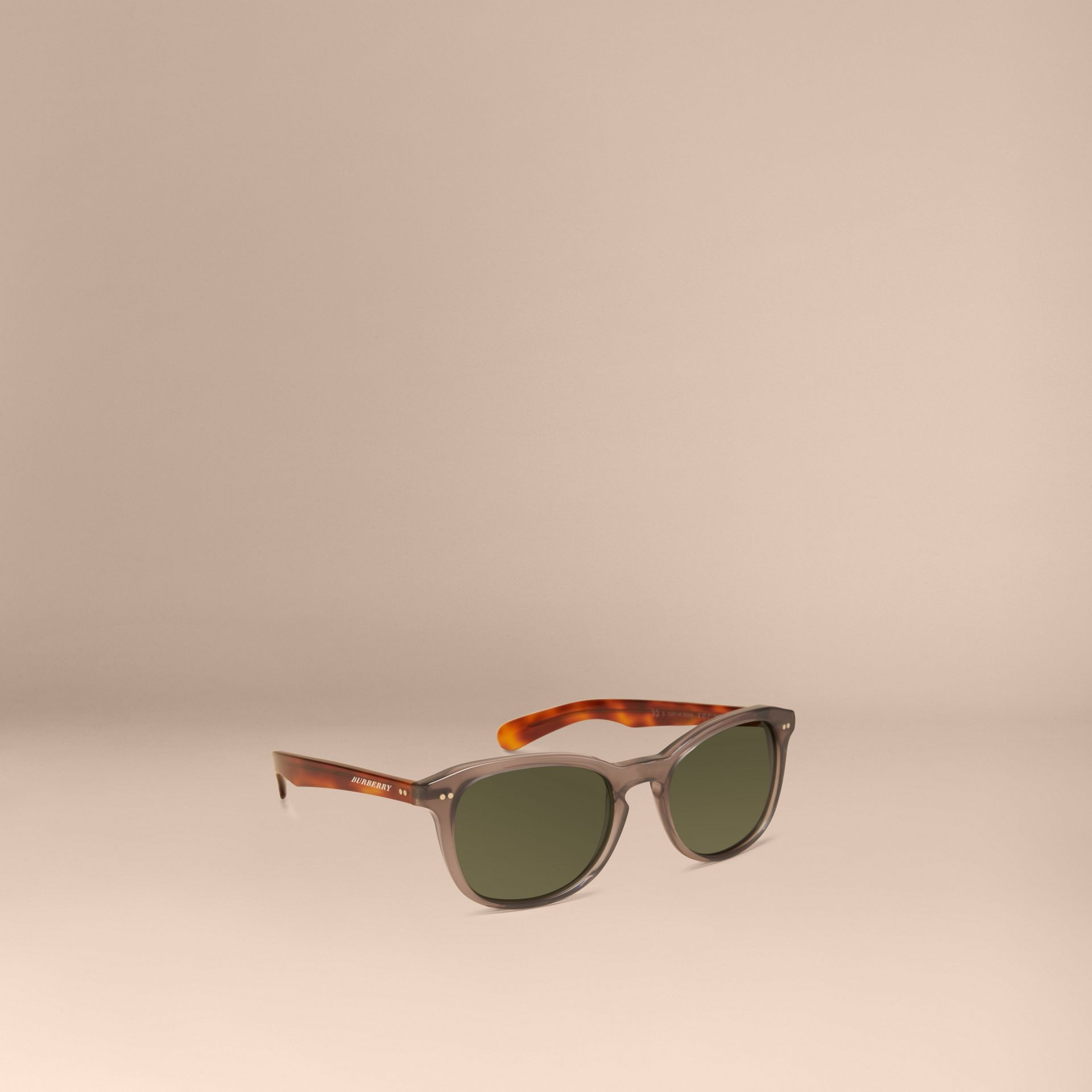 Smokey grey Square Frame Sunglasses Smokey Grey - gallery image 1