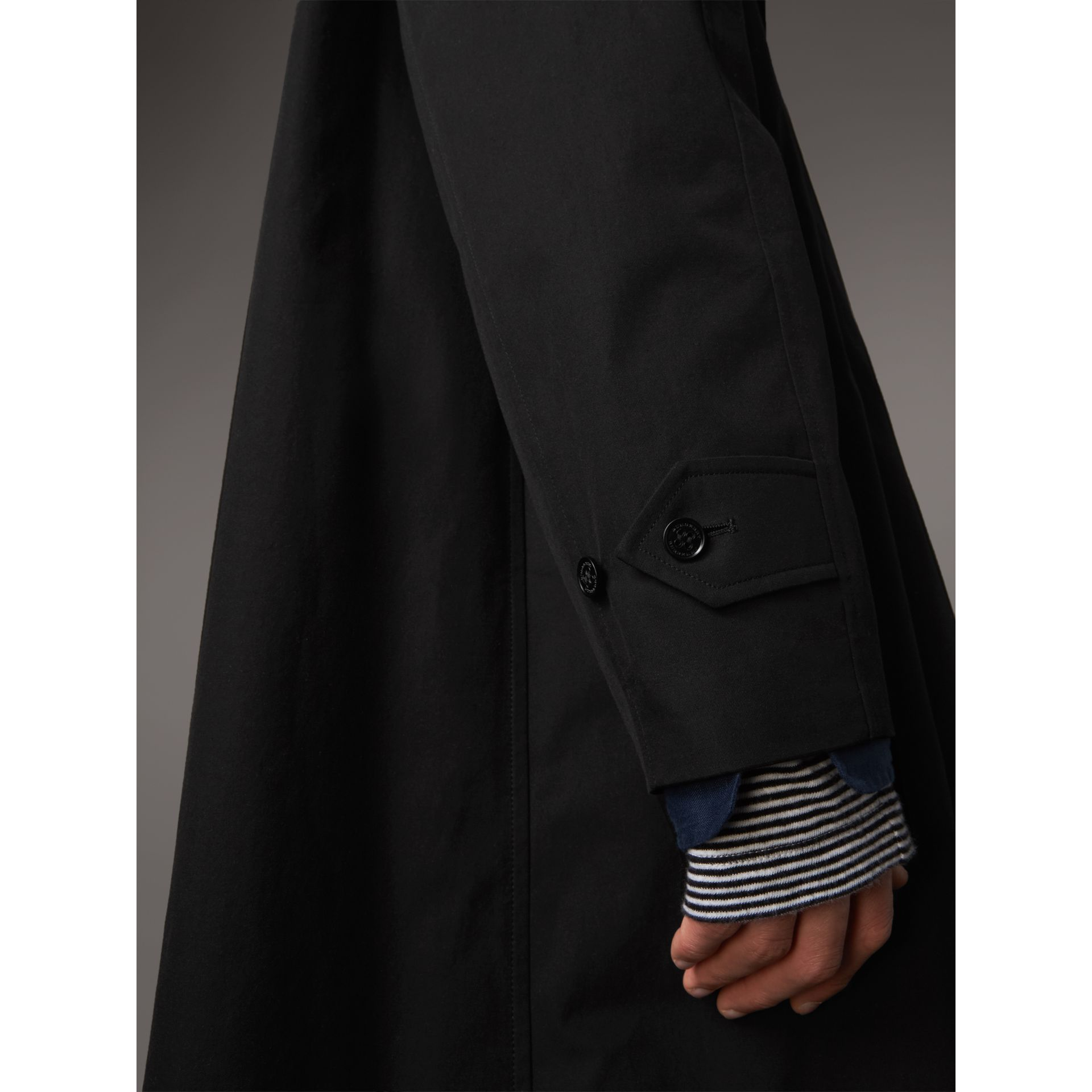 The Brighton Car Coat – Online Exclusive in Black - Men | Burberry United States - gallery image 4
