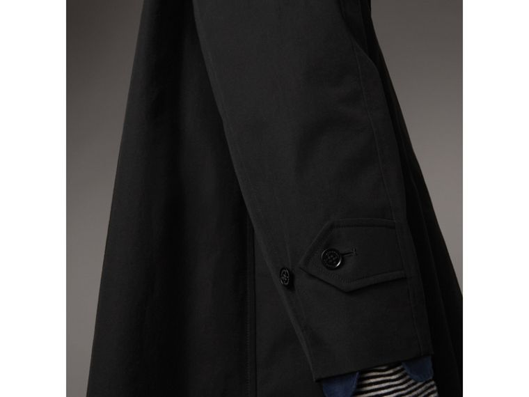 The Brighton Car Coat – Online Exclusive in Black - Men | Burberry United States - cell image 4