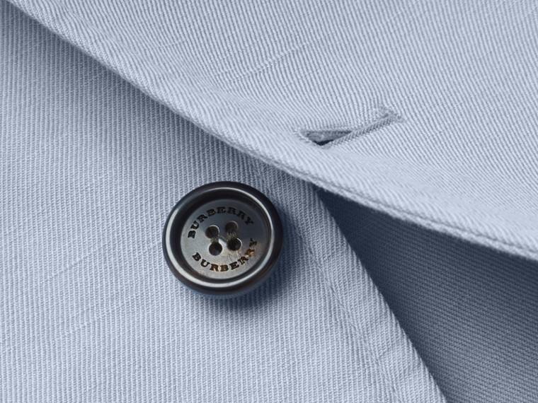 Slim Fit Cotton Linen Jacket - cell image 1