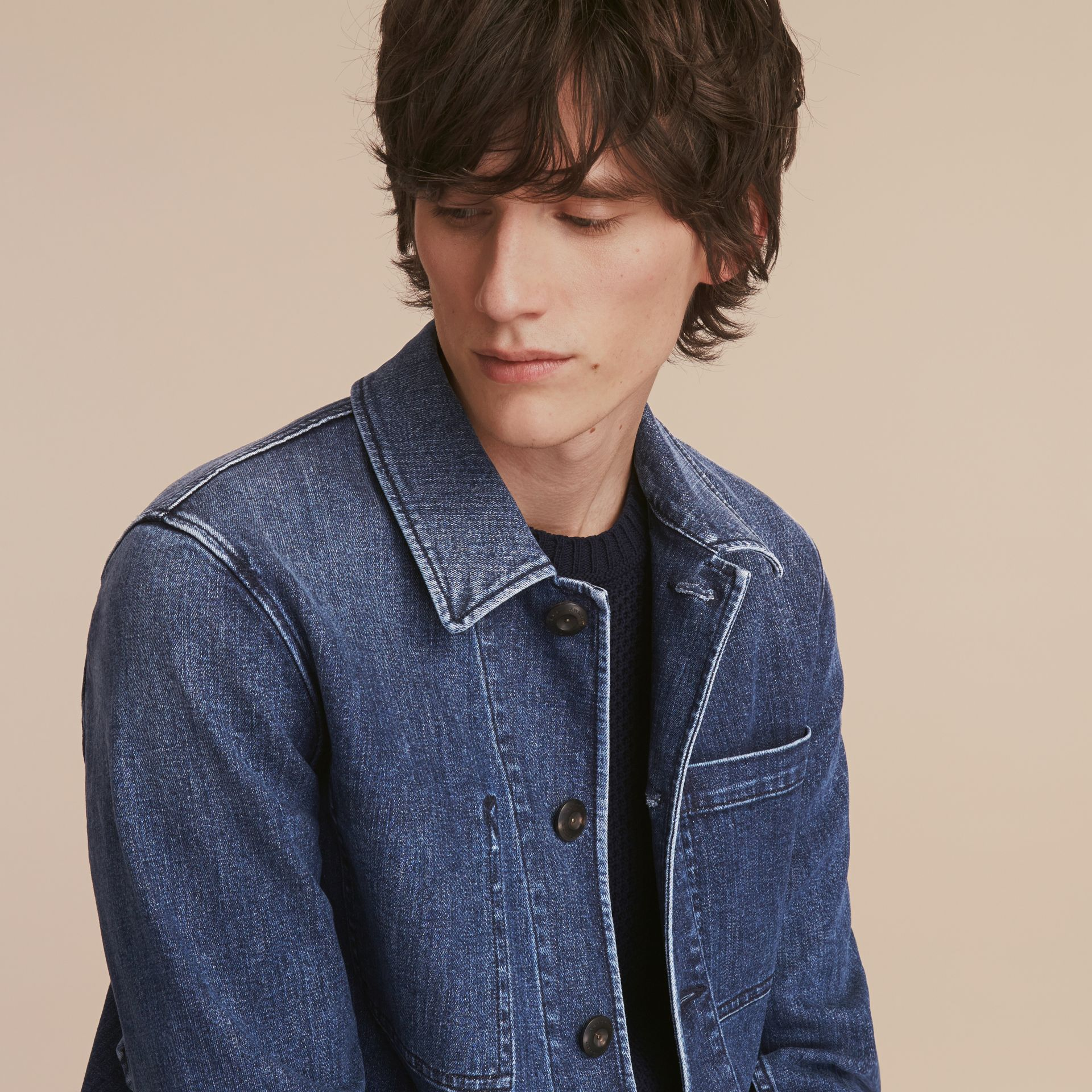 Denim Workwear Jacket - gallery image 5