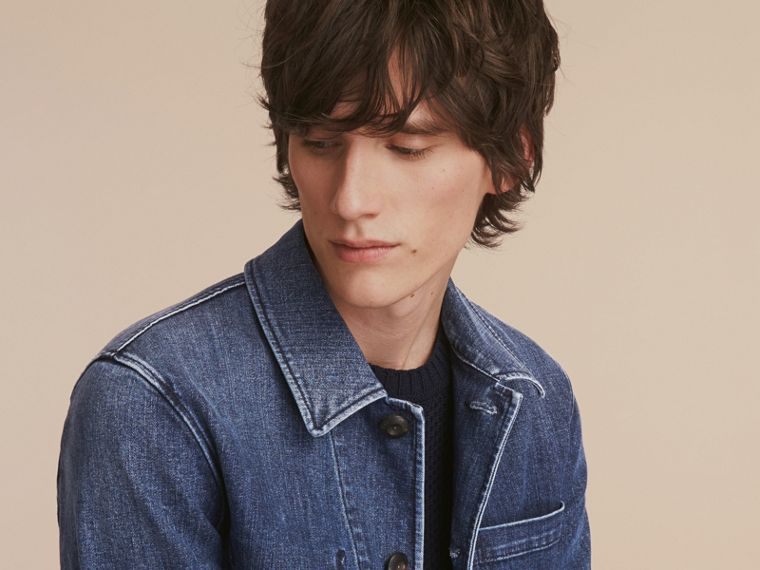 Denim Workwear Jacket - cell image 4