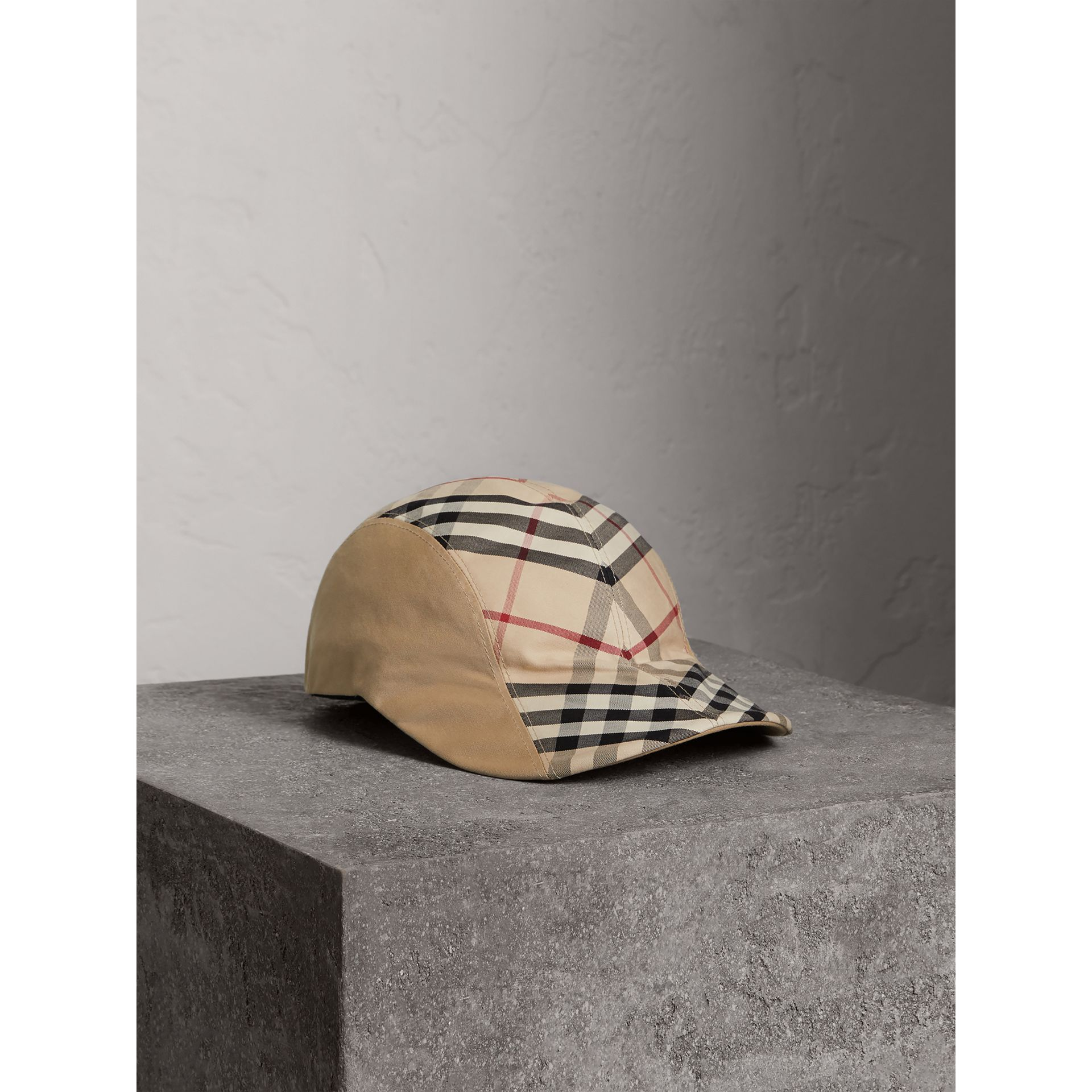 Gosha x Burberry Duckbill Cap in Honey | Burberry United Kingdom - gallery image 0