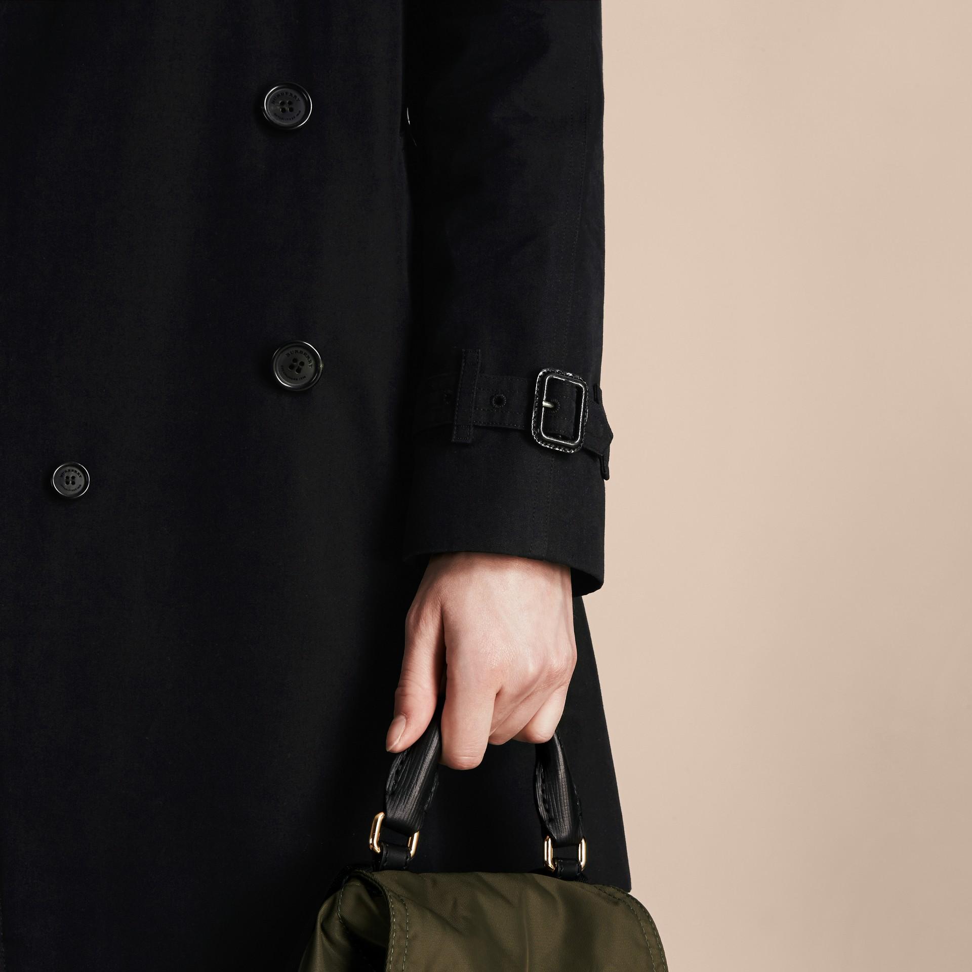 Noir The Westminster – Trench-coat Heritage long Noir - photo de la galerie 6
