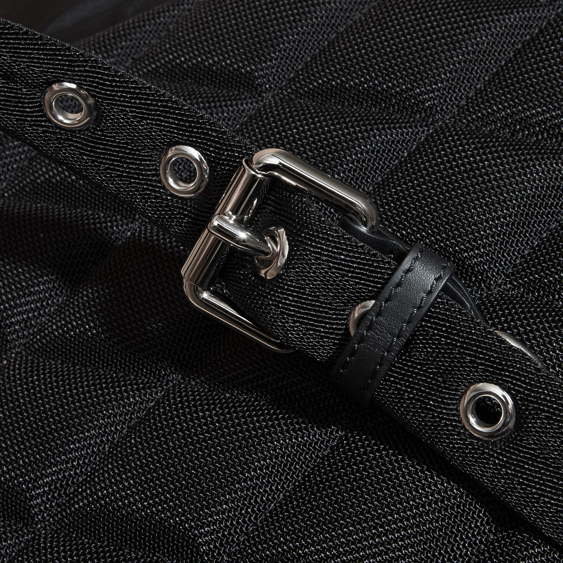 The Medium Rucksack in Nylon and Leather - gallery image 7