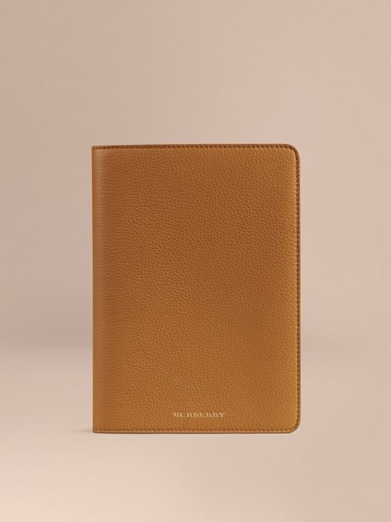 Grainy Leather iPad Mini Case Ochre Yellow