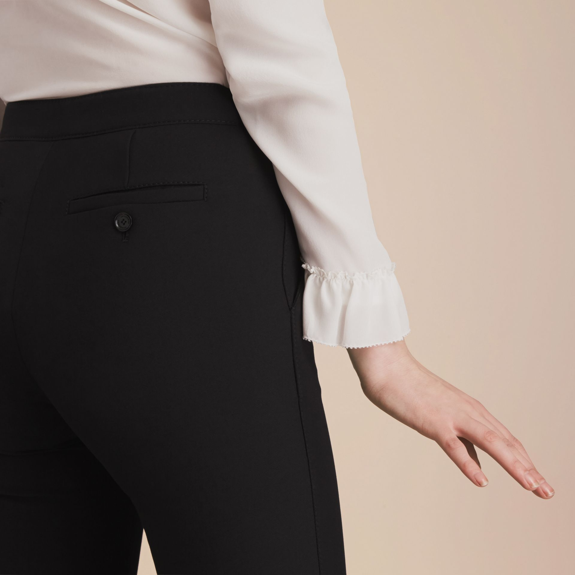 Wide-leg Technical Trousers - gallery image 5