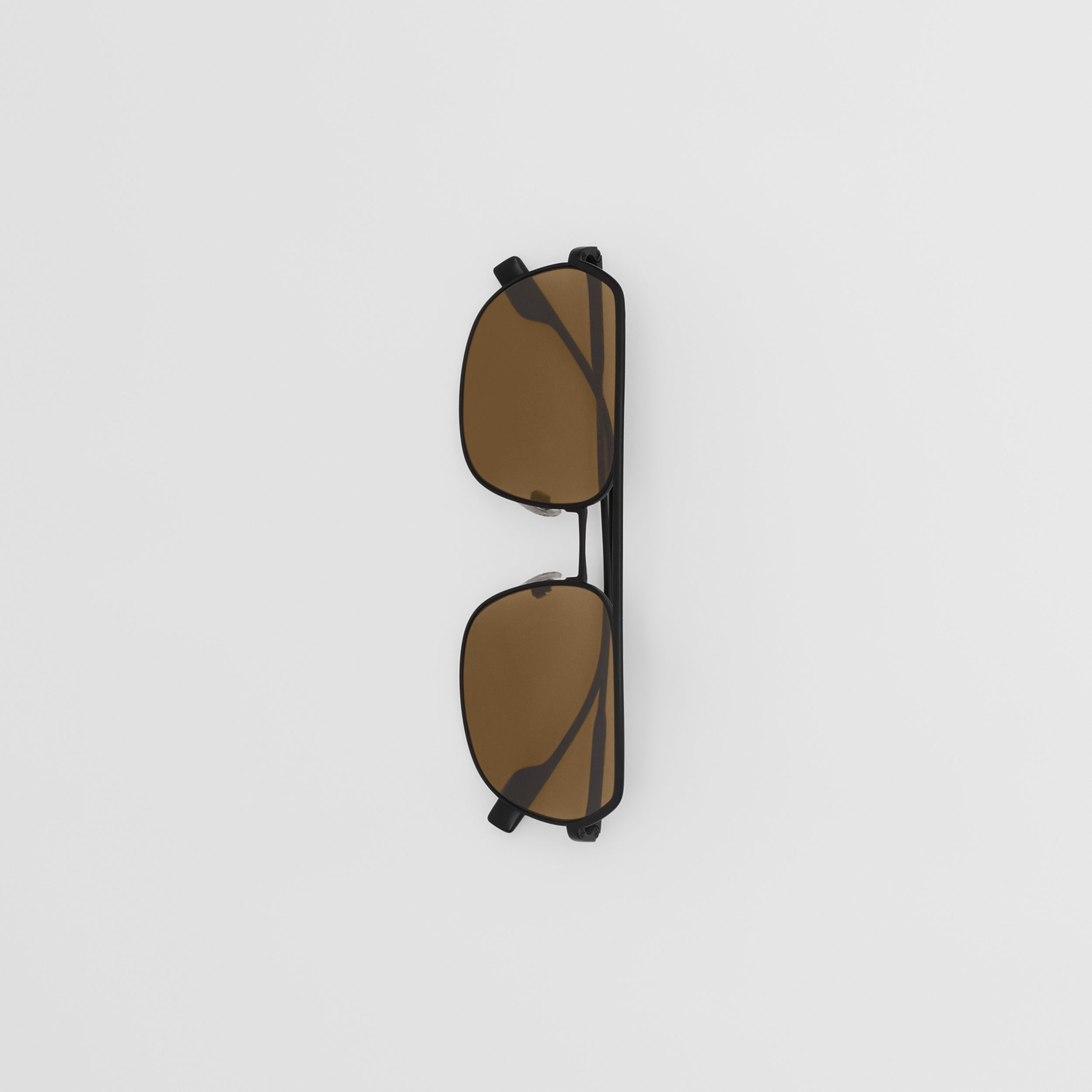 Square Pilot Sunglasses - Men | Burberry Hong Kong S.A.R. - 4