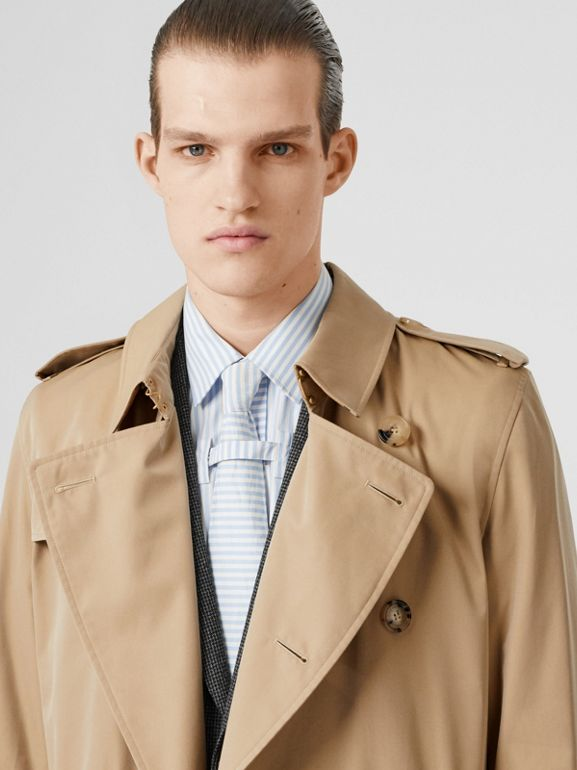 The Long Kensington Heritage Trench Coat in Honey - Men | Burberry Hong Kong S.A.R - cell image 1