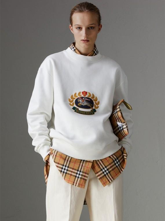 Suéter de malha - Reedição (Creme)