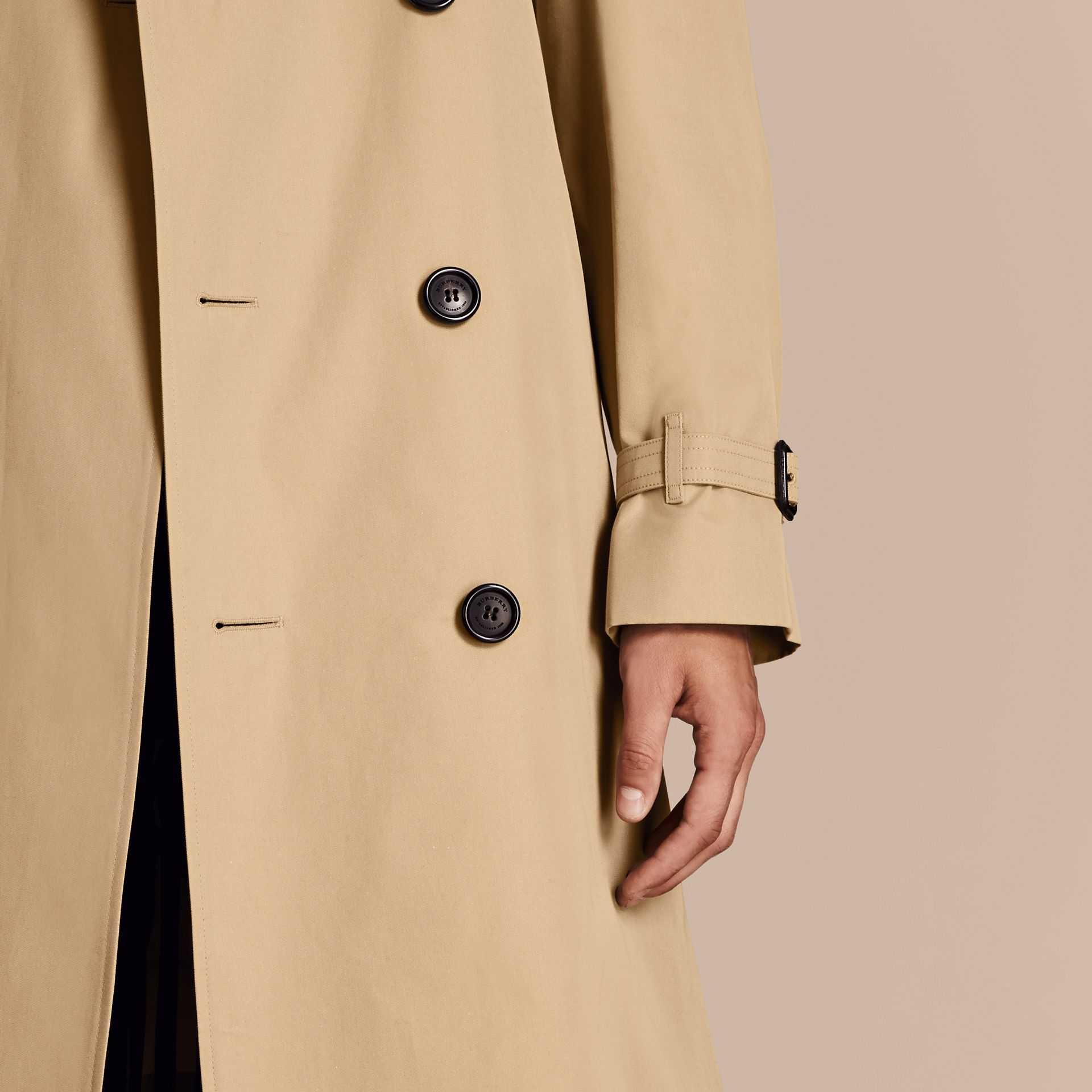 Honey The Westminster – Long Heritage Trench Coat Honey - gallery image 7