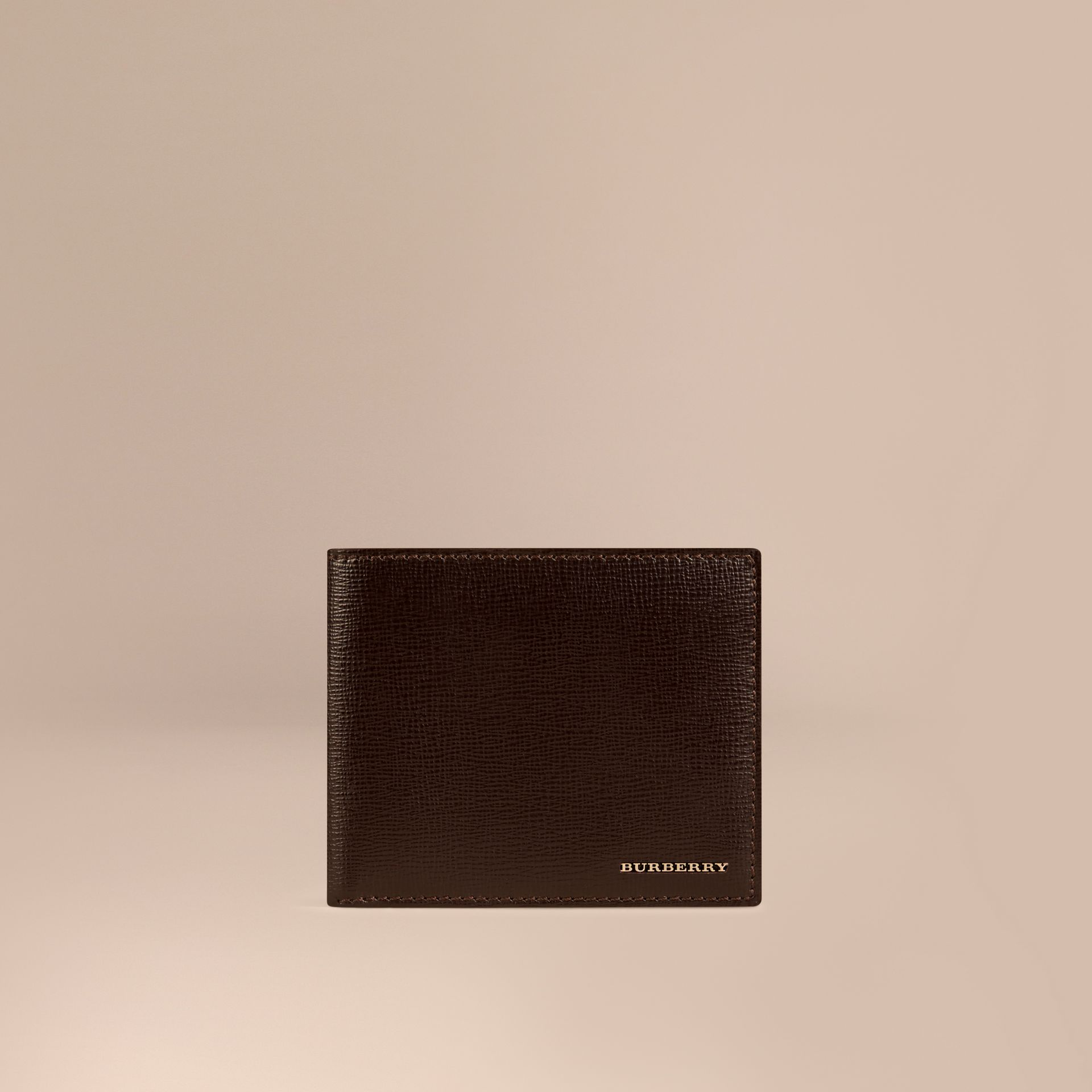 Wine London Leather ID Wallet - gallery image 1
