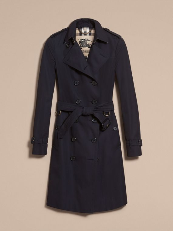 Navy The Sandringham - Trench coat Heritage lungo Navy - cell image 3