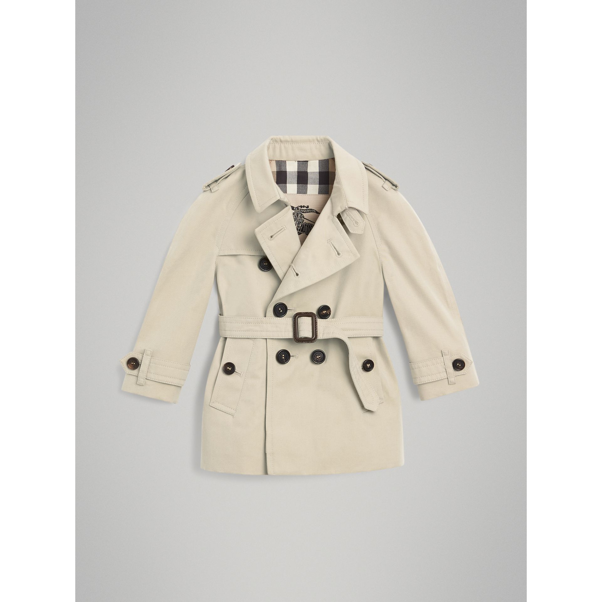 Trench The Wiltshire (Stone) | Burberry - photo de la galerie 2
