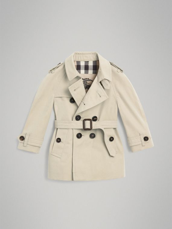 Trench The Wiltshire (Stone) | Burberry - cell image 2