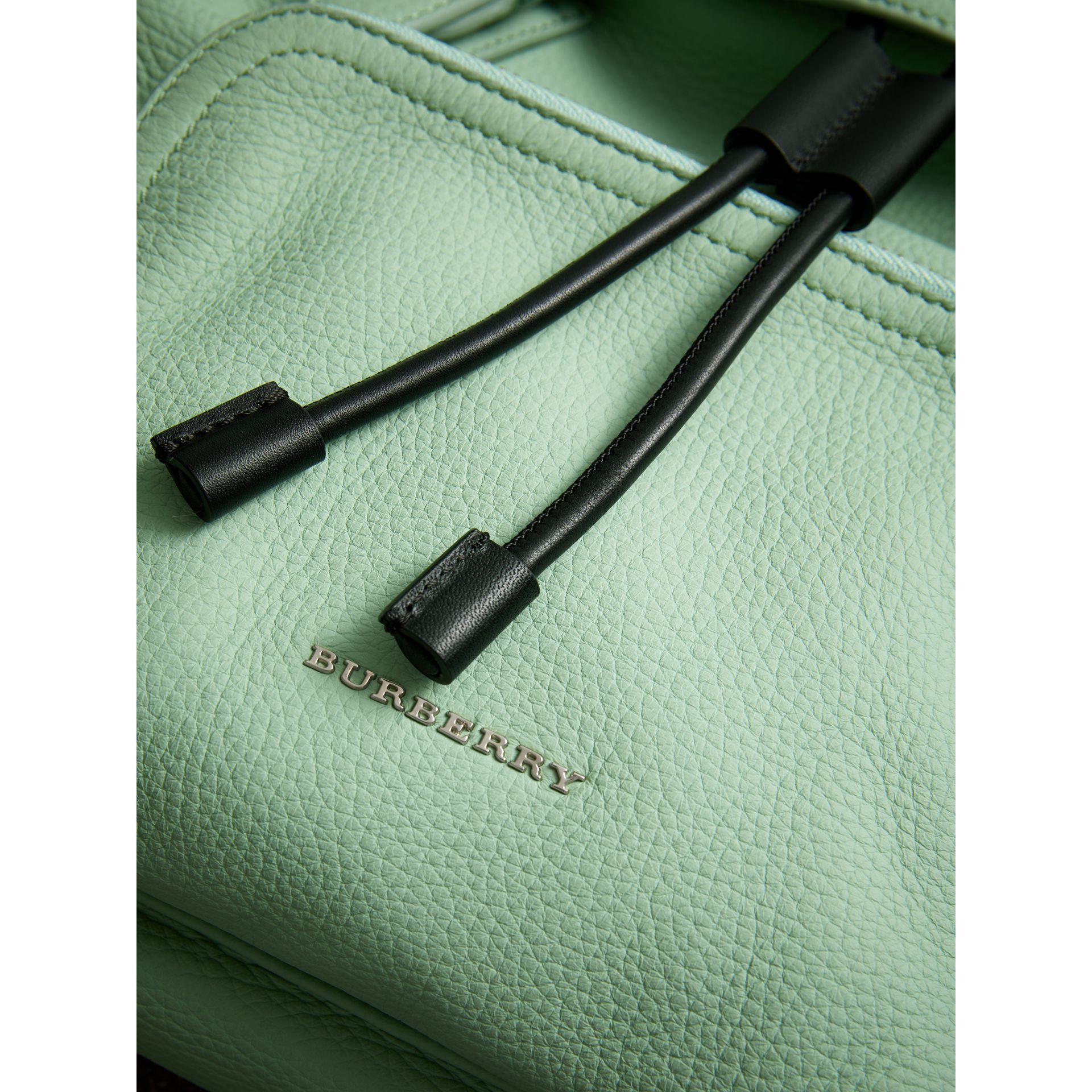 The Medium Rucksack in Deerskin with Resin Chain in Spearmint - Women | Burberry United States - gallery image 1