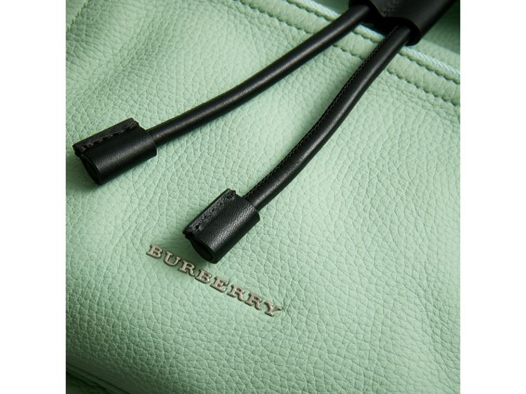 The Medium Rucksack in Deerskin with Resin Chain in Spearmint - Women | Burberry United States - cell image 1