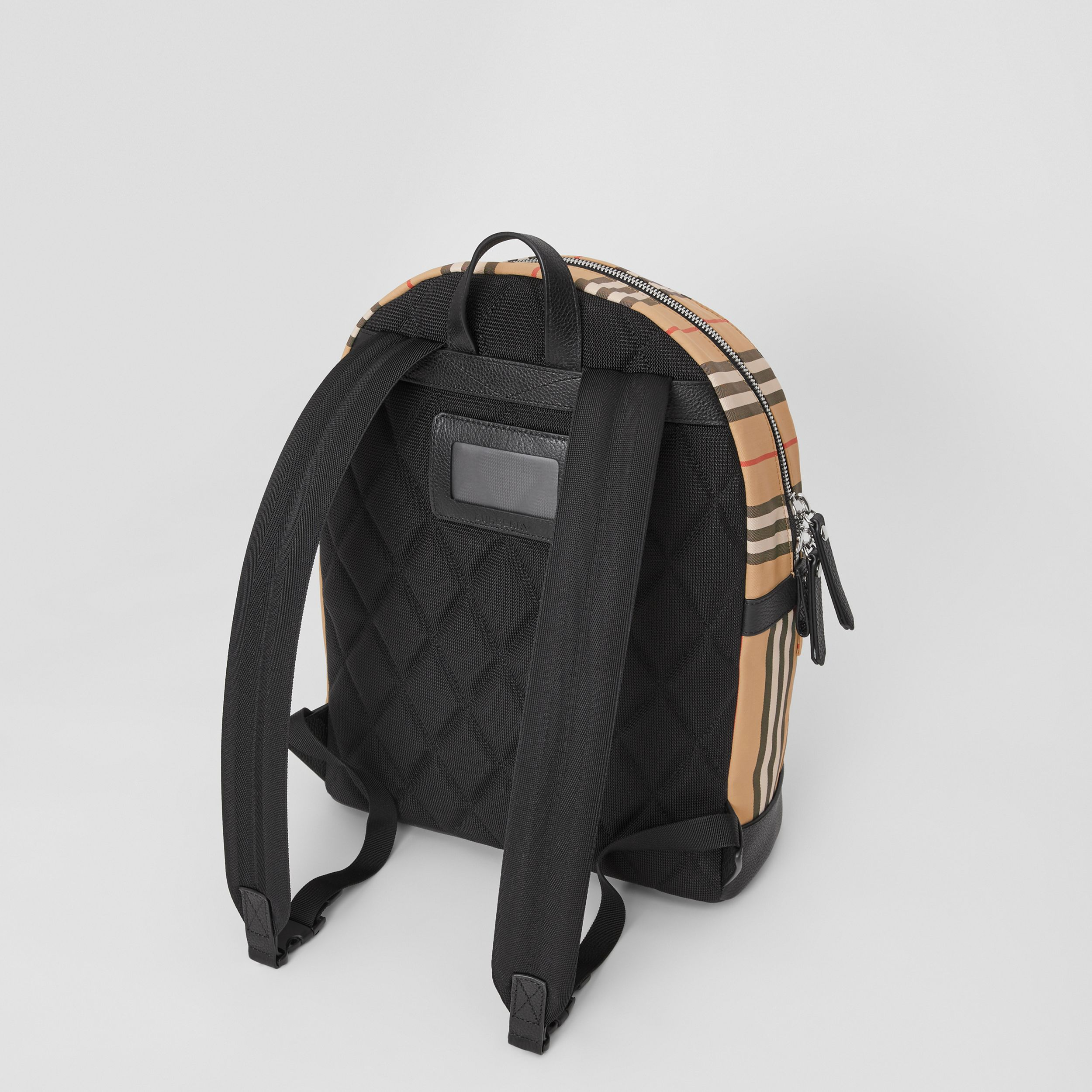 Icon Stripe Nylon Backpack in Archive Beige | Burberry United States - 3