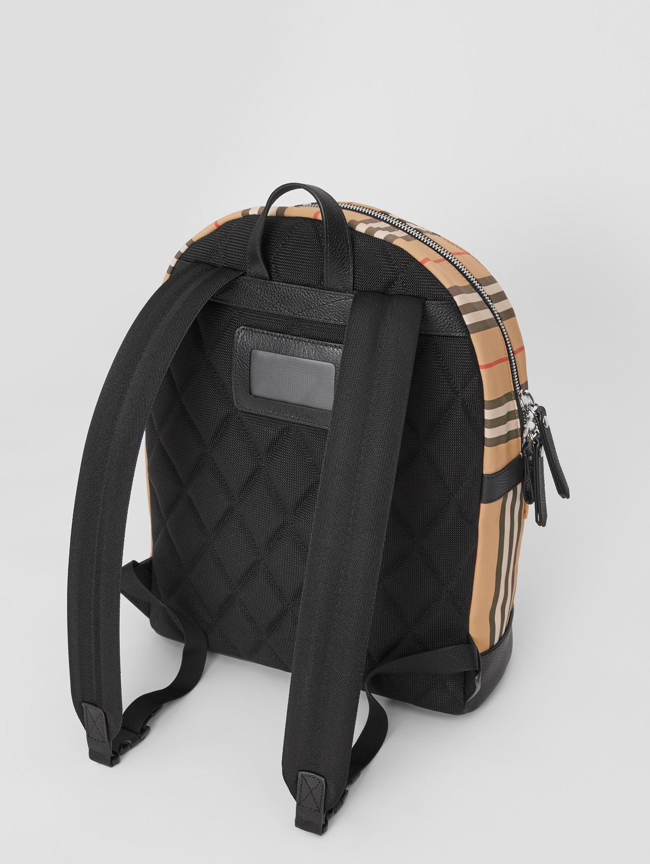 Icon Stripe Nylon Backpack (Archive Beige)