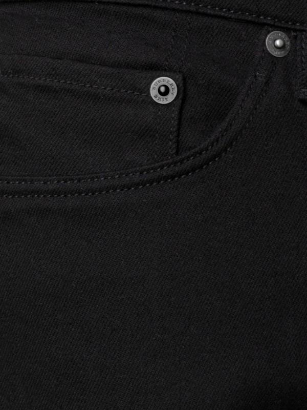 Jeans em corte slim preto - Homens | Burberry - cell image 2