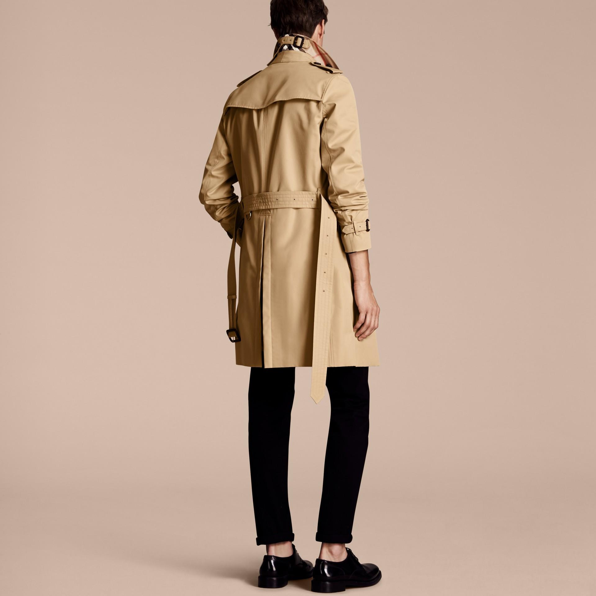 Miele The Chelsea - Trench coat Heritage lungo Miele - immagine della galleria 3