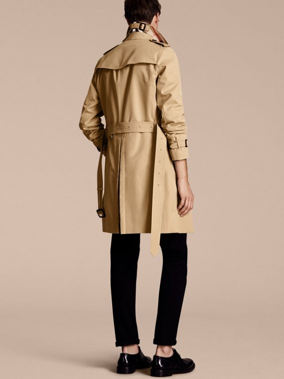 Honey The Chelsea – Long Heritage Trench Coat Honey - cell image 2