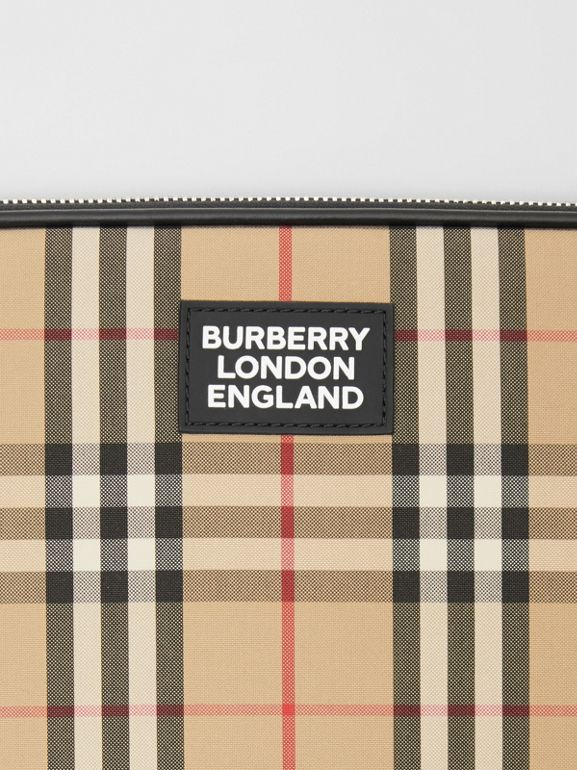 Vintage Check Digital Case in Archive Beige - Men | Burberry Canada - cell image 1