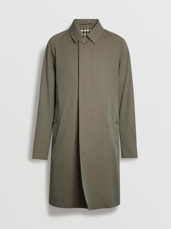 The Camden Car Coat in Chalk Green - Men | Burberry United Kingdom - cell image 3