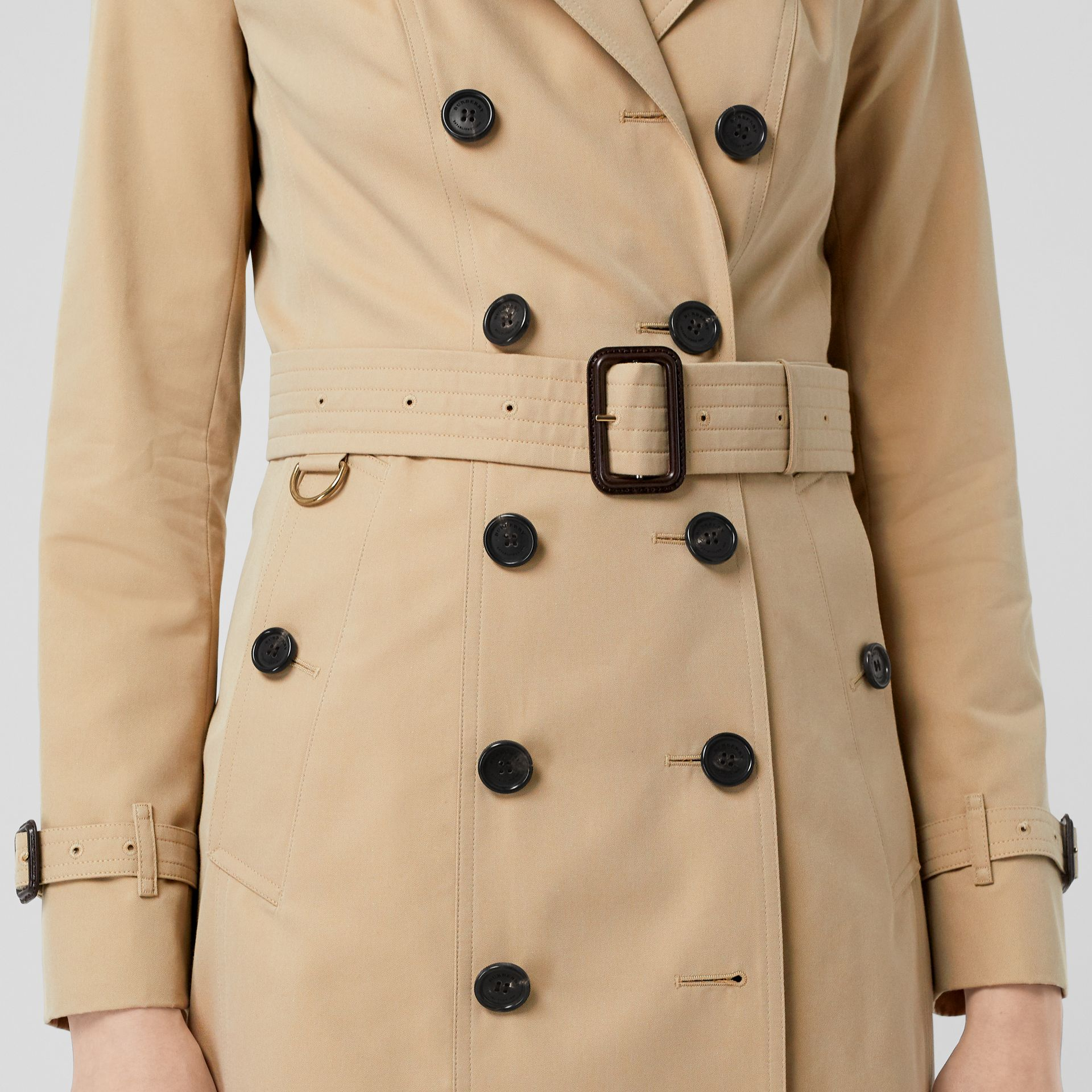 The Sandringham – Extra-long Trench Coat in Honey - Women | Burberry - gallery image 6
