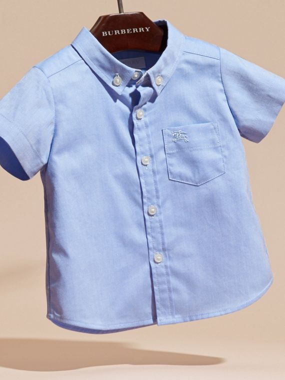 Cornflower blue Classic Oxford Shirt - cell image 2