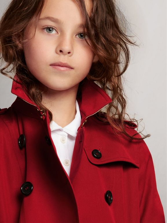 The Sandringham Trench Coat in Parade Red | Burberry - cell image 1