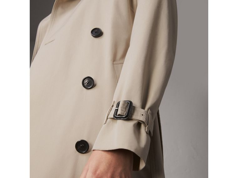 The Kensington – Extra-long Trench Coat in Stone - Women | Burberry - cell image 4