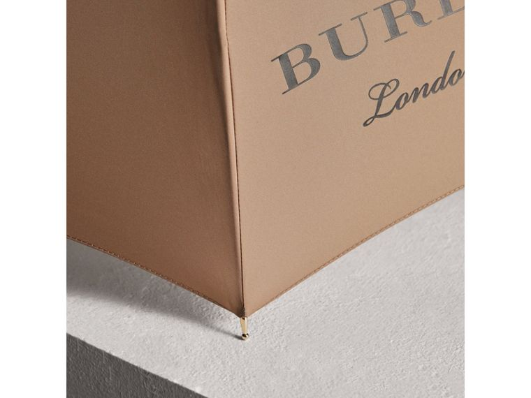 Dégradé Handle Umbrella in Honey | Burberry - cell image 2