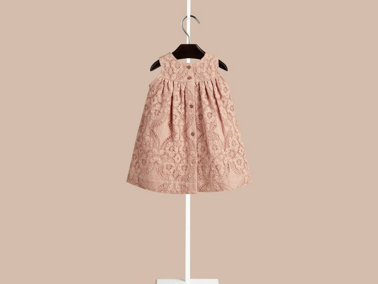 Thistle pink English Lace A-line Sleeveless Dress Thistle Pink - cell image 1